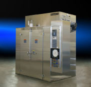 Stainless steel walk-in oven for pharmaceutical